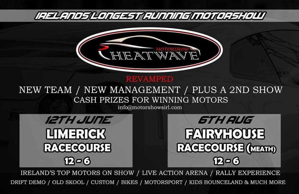 Heatwave car show fairy house racecourse