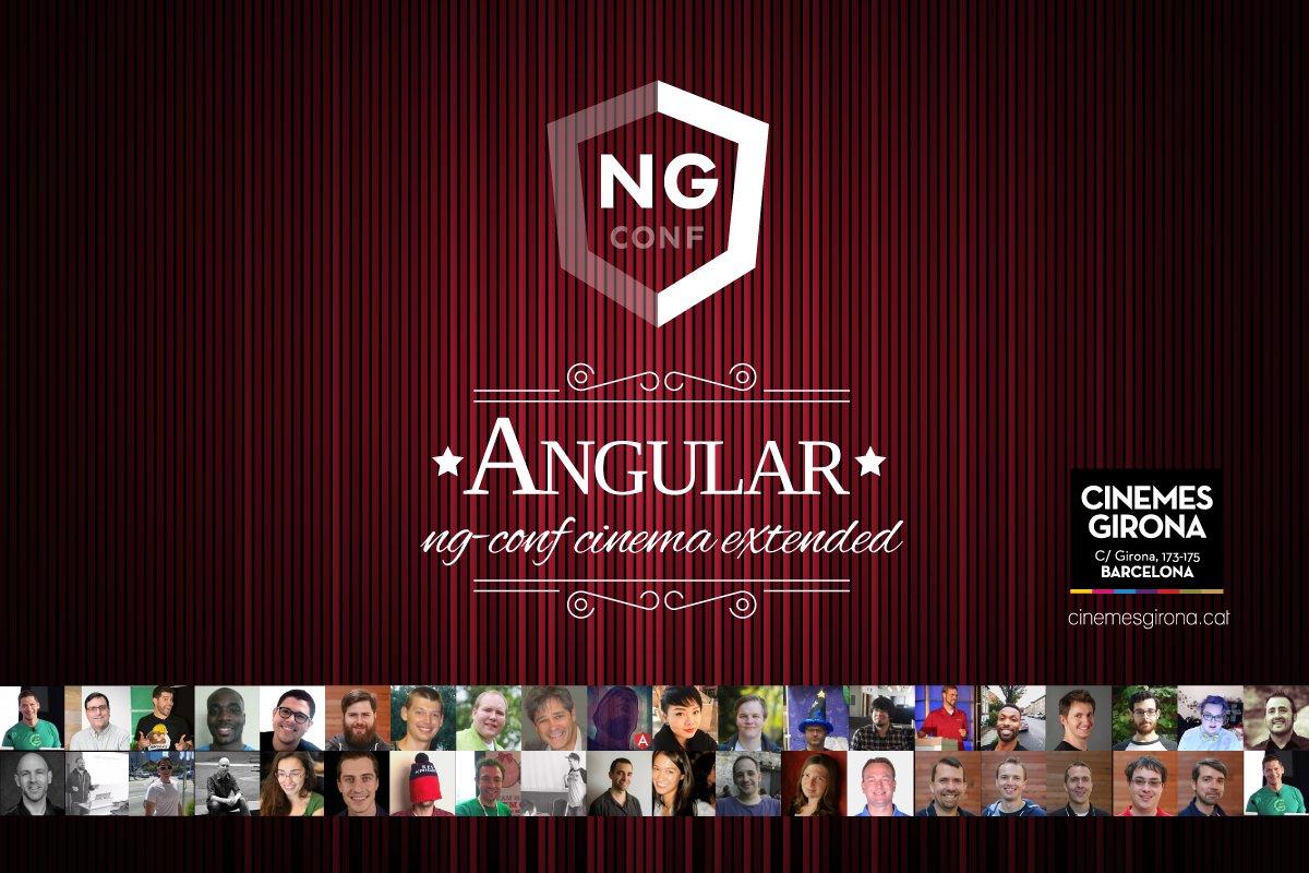 ng-conf cinema extended [May 5th] – AngularJS & Beers (Barcelona) – Meetup