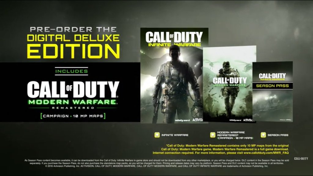 Call of Duty Infinite Warfare Digital Deluxe Edition