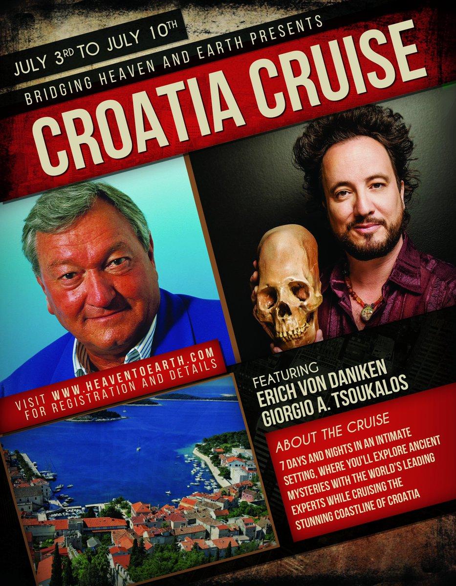 #Cruise in #Croatia with Erich @vonDaeniken & Giorgio @Tsoukalos >>> https://t.co/wEriHqWFEy #EricVonDaniken https://t.co/zkZzc72b7J