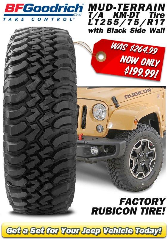 Jeep Mud Tires Quadratec >> Quadratec On Twitter Flash Sale Bf Goodrich Mud Terrain T A Km