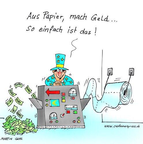 Wie die EZB (noch) funktioniert...