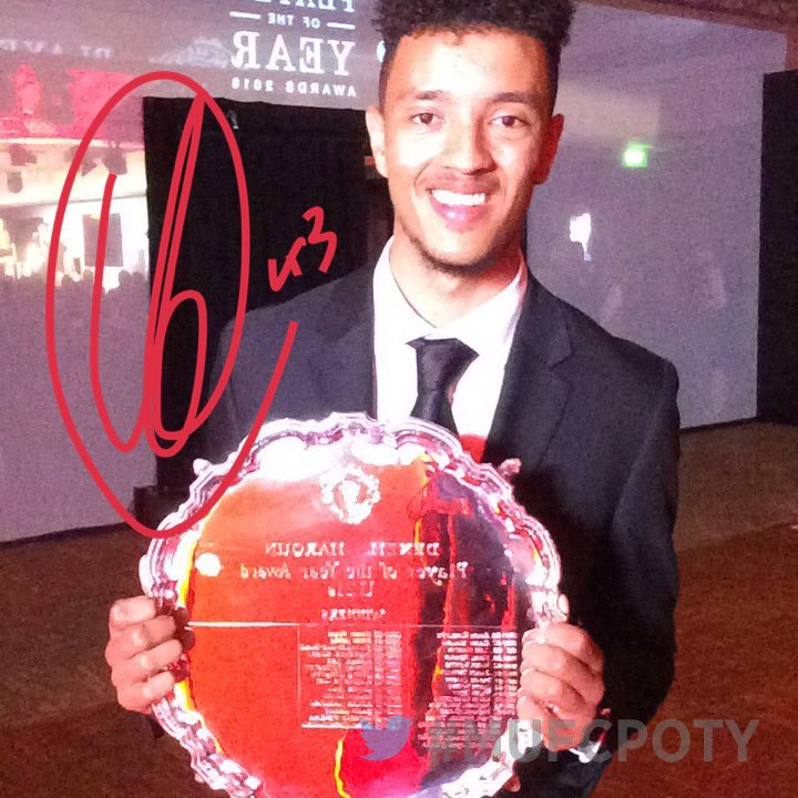 And well done to Cameron Borthwick-Jackson, our U21s Player of the Year! #MUFCPOTY