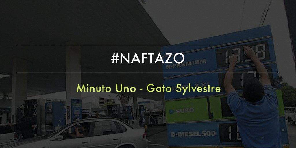 Empez a sumarte al debate de minuto uno naftazo hoy a for Minuto uno primicias ya