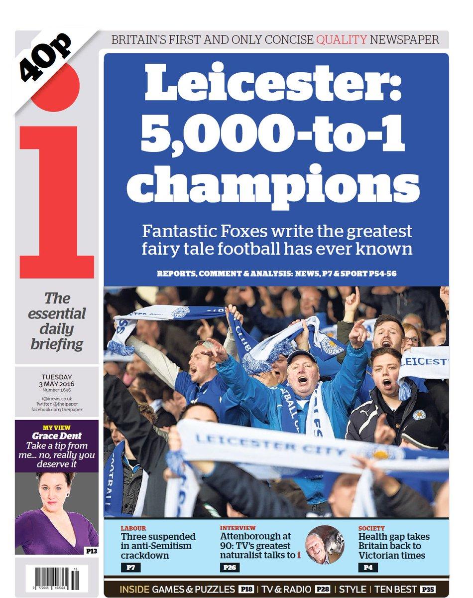 Leicester City: fans celebrate fairytale Premier League win – as it