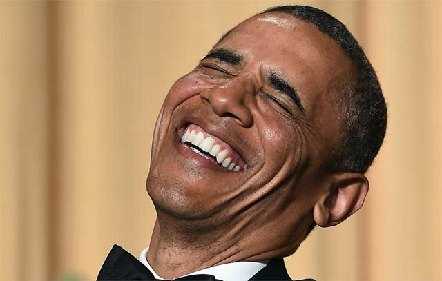 Obama Jokes About Getting High at His Final White House Correspondents Dinner