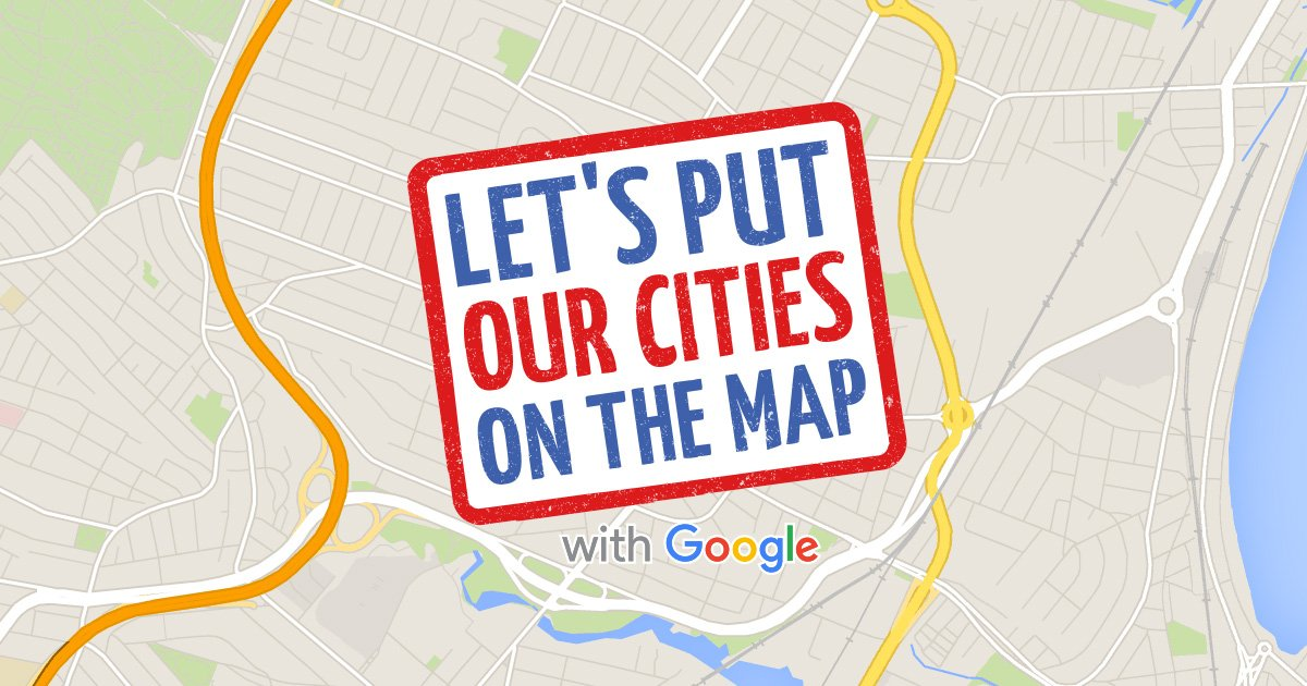 Let's Put Our Cities on the Map