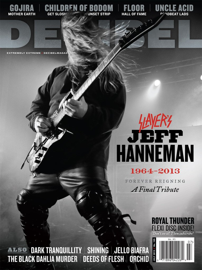 On the third anniversary of @Slayer guitarist Jeff Hanneman's death, here's our full tribute https://t.co/7oHTwSEs9h https://t.co/AMLGqKripn