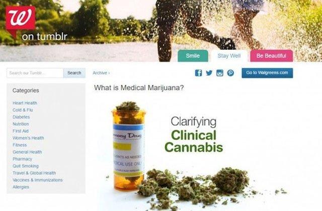 Walgreens Discusses Benefits of Medical Marijuana With Patients