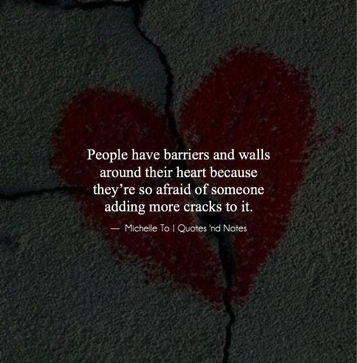 Quotes Nd Notes On Twitter People Have Barriers And Walls Around
