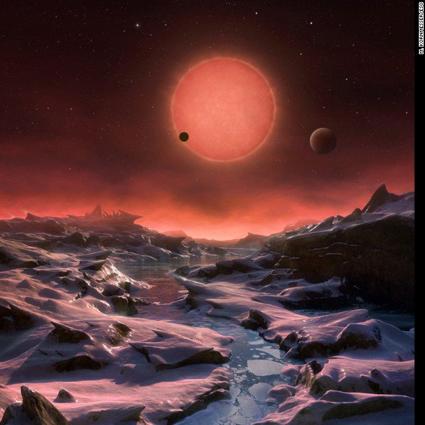 Three potentially habitable, Earth-like worlds discovered orbiting an ultracool dwarf star https://t.co/wKJABnXj6P