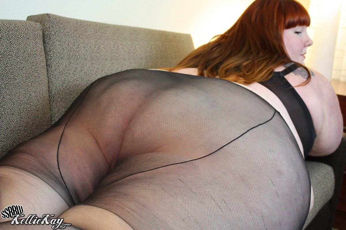 ssbbw pantyhose