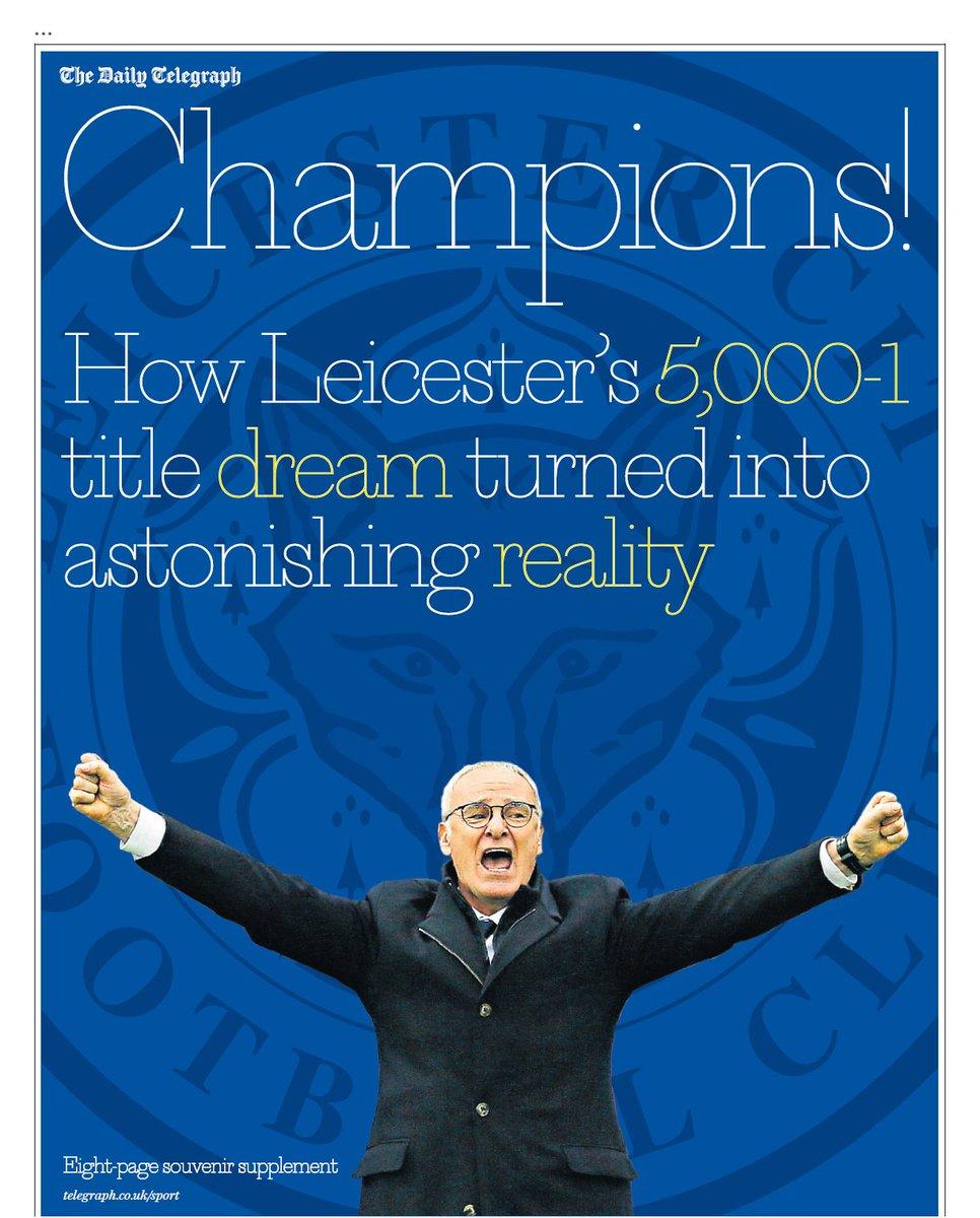 584788a66 Leicester City  fans celebrate fairytale Premier League win – as it ...
