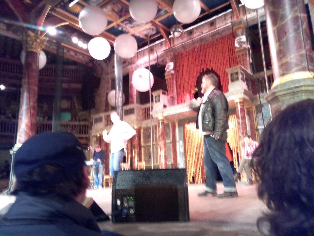 Had an hilarious evening @The_Globe with the Comedy Store Players. Thanks a lot! #ComedyStorePlayers https://t.co/nbu9MMp0yX