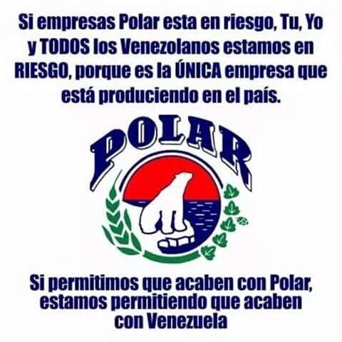 #MaduroNoTeEquivoques El régimen delincuente que no produce, pretende robarse la Polar y dejar a Vzla sin alimentos. https://t.co/VFYejn18J8