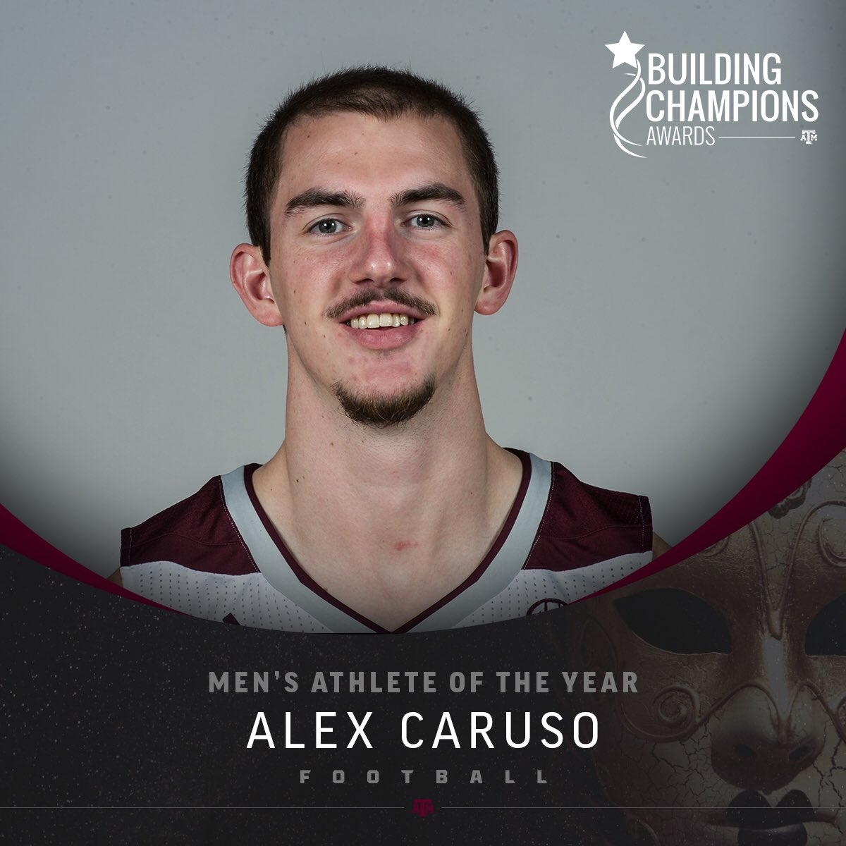 "Texas A&M Athletics on Twitter: ""Congrats Alex Caruso, the male winner of the 2016 Athlete of the Year Award! #12thMan #BCAs2016"