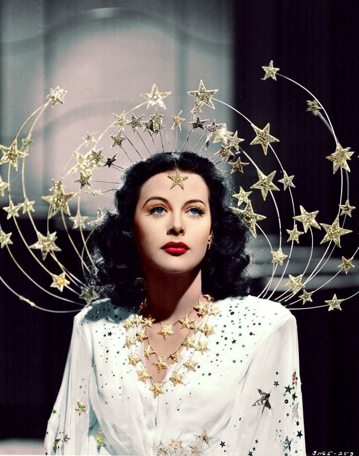 bored by acting, Hedy Lamarr invented and patented technology we now use for Wifi and GPS #MetGala https://t.co/nJD63IvMlq