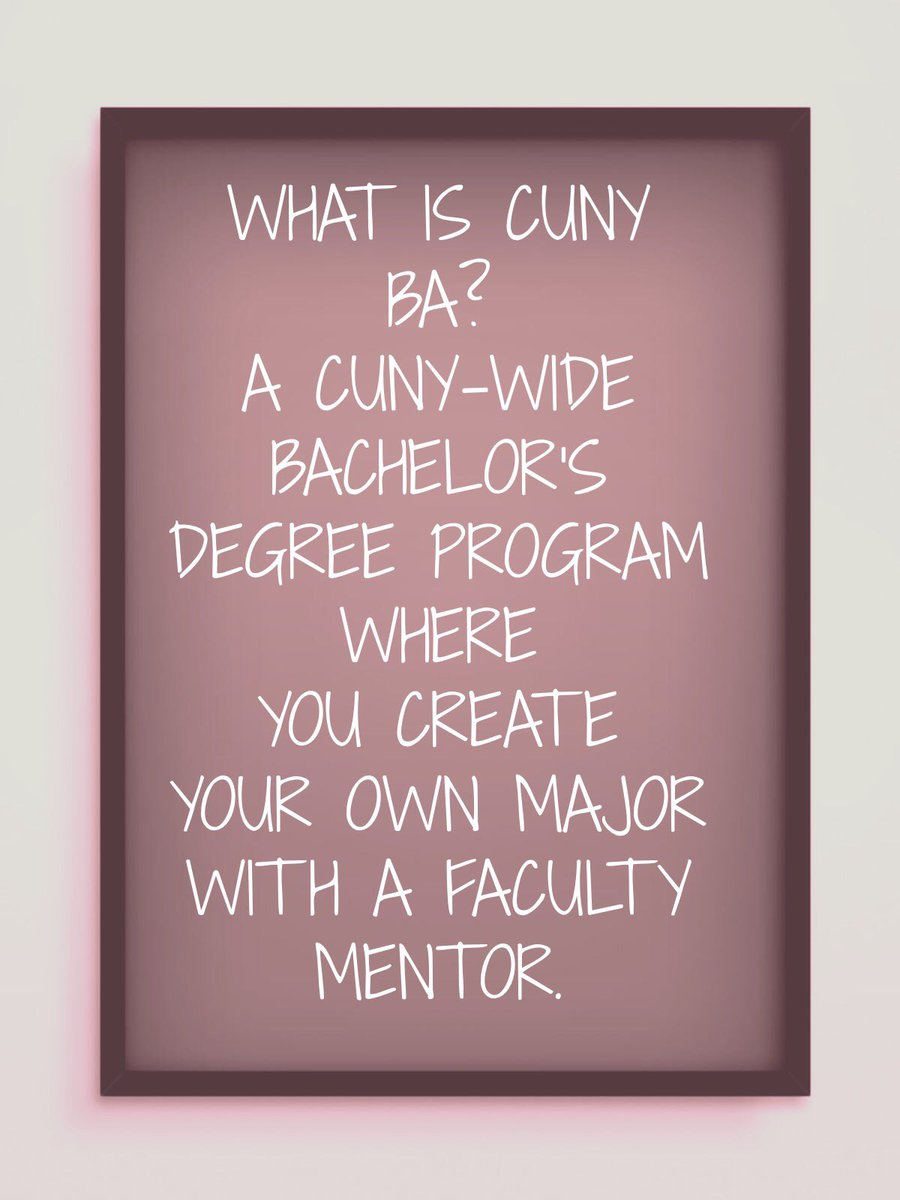 CUNY Baccalaureate on Twitter: