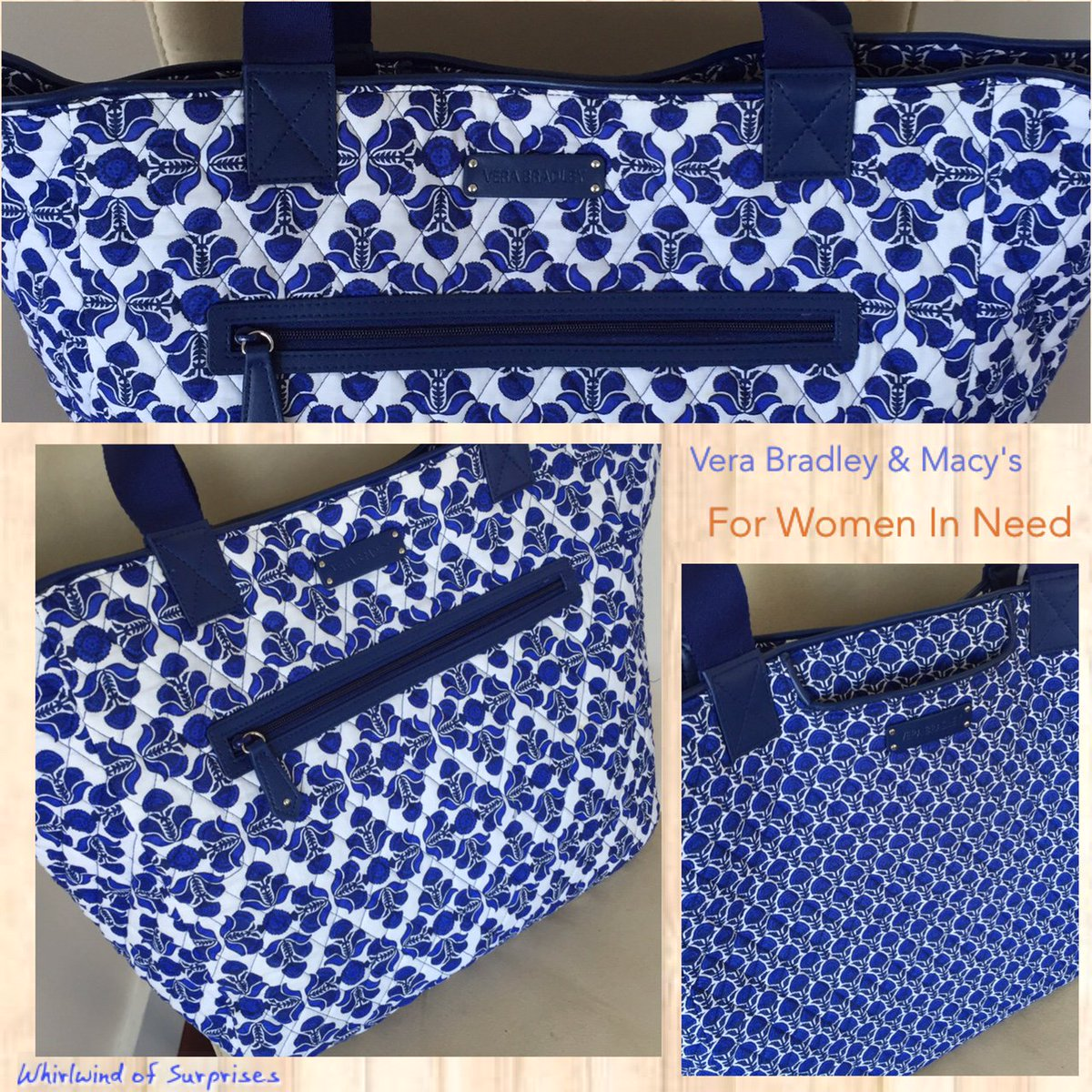 Vera Bradley and Macy's Limited Edition Tote for Mother's Day pays it forward