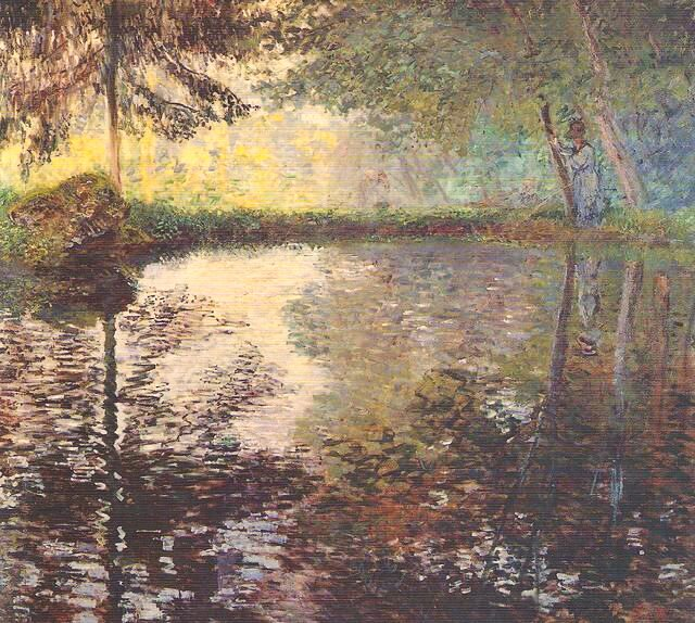 Claude Monet Stagno a Montgeron 1876-187...