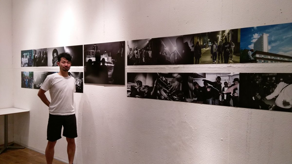 big ups @yokoching - dope uk/jp grime photographer. 'stand up tall, never shut up' is open till may 8 in harajuku. https://t.co/fpSVbHXb0t