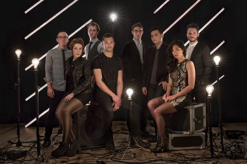 The chamber-pop orchestrations of @sanferminband come to the @ParishATX tonight.