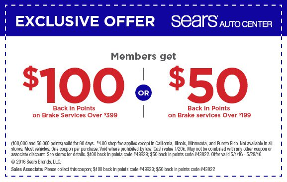 graphic relating to Sears Auto Printable Coupons known as Nick Kaleman (@servicecoupon) Twitter