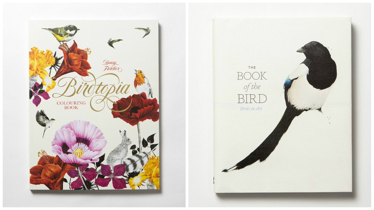 Welcoming back from the w/e with a #comp! May's giveaway is 'The Book of the Bird' & 'Birdtopia' RT & Follow to win. https://t.co/Kr0TTwOTai