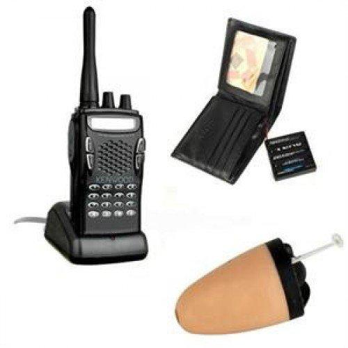 Long Distance Metal Bluetooth Pen HERO 898 with Micro  Earpiece 218 Kit Spy