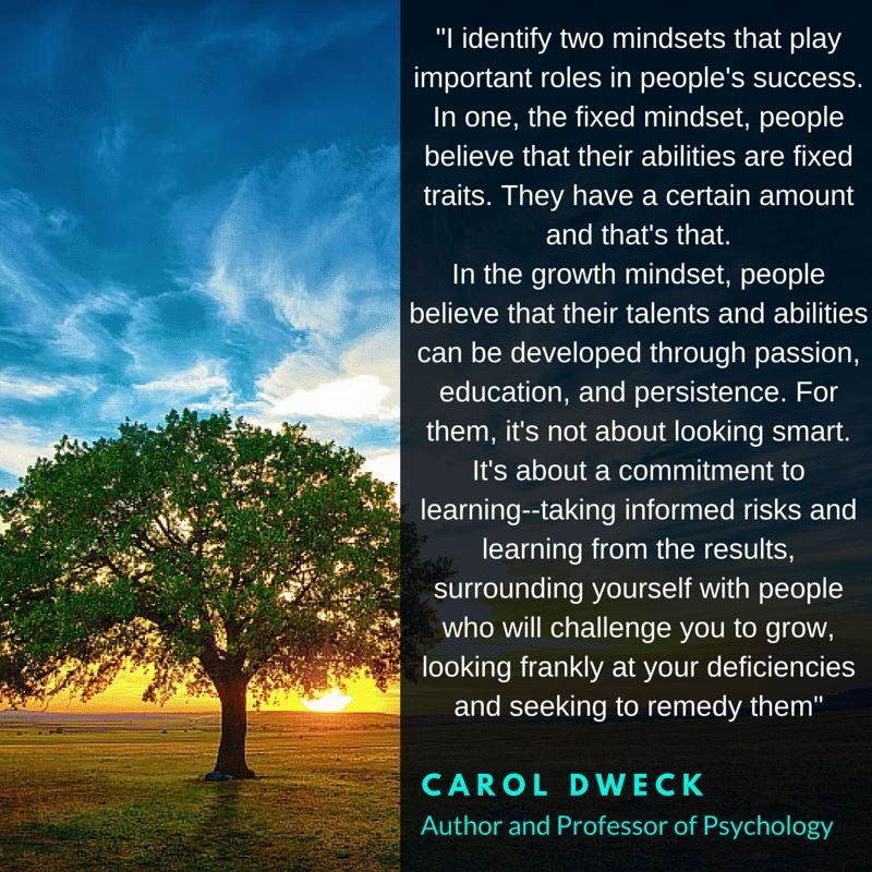 Carol Dweck   #quoteoftheday  #growthmindset   #MindsetPlay  https://t.co/MMQjgcTmzY