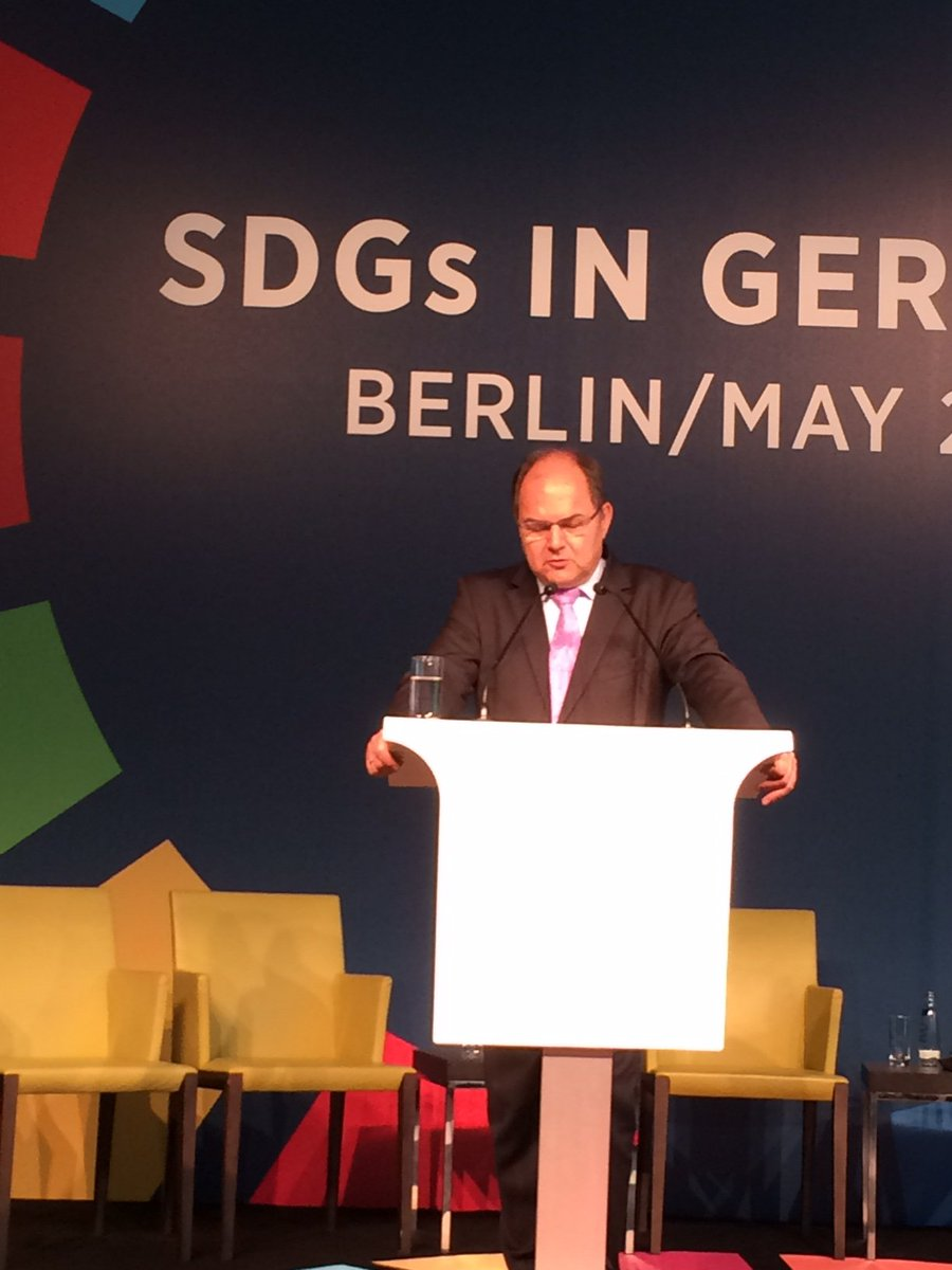 #JumpstartSDGs: Minister Christian Schmidt says Germany, leading #G20 in 2017, will engage on Water & Food Security https://t.co/pg674JU4S7