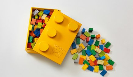 """Inspiring idea from @LewLaraTBWA turns toy blocks into """"Braille Bricks"""" for the blind https://t.co/Saq8oMOqYK https://t.co/WNYthi6RV2"""