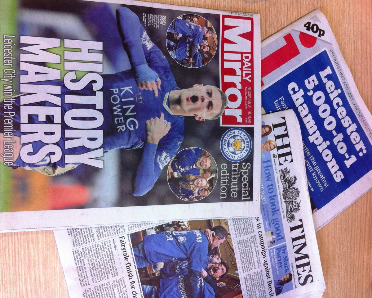 We'd love hard copies of international newspapers coverage of @LCFC Please send to us at #newwalkmuseum #thanks! https://t.co/d4dr4DQfnf