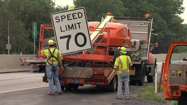 Some Pennsylvania Highways have posted new speed limits