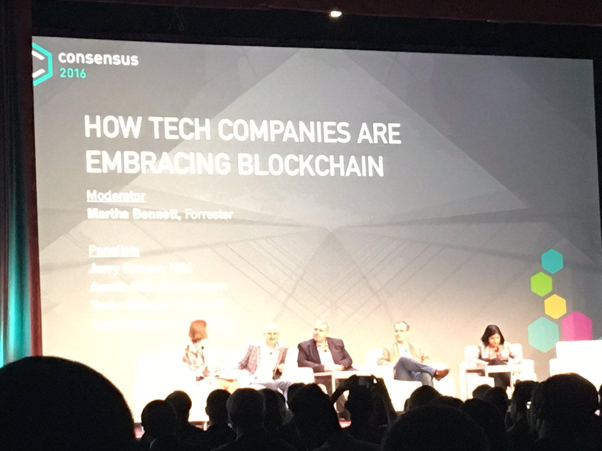 """The Bitcoin Blockchain has had the world's largest running security bounty for the last six years"" #Consensus2016 https://t.co/WOG2d1IEcx"