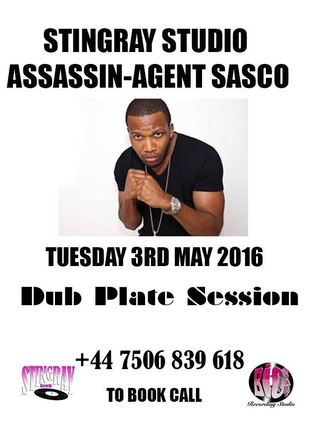 London dub session with @AgentSasco tonight. Contact @StingrayRecords to book. https://t.co/KXW08ZDH3T