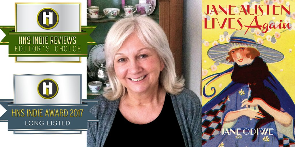 Exciting news! Jane Austen Lives Again is Editor's Choice & long listed for HNS Indie Award  https://t.co/JF57di51Uj https://t.co/tL4CaEwZL4