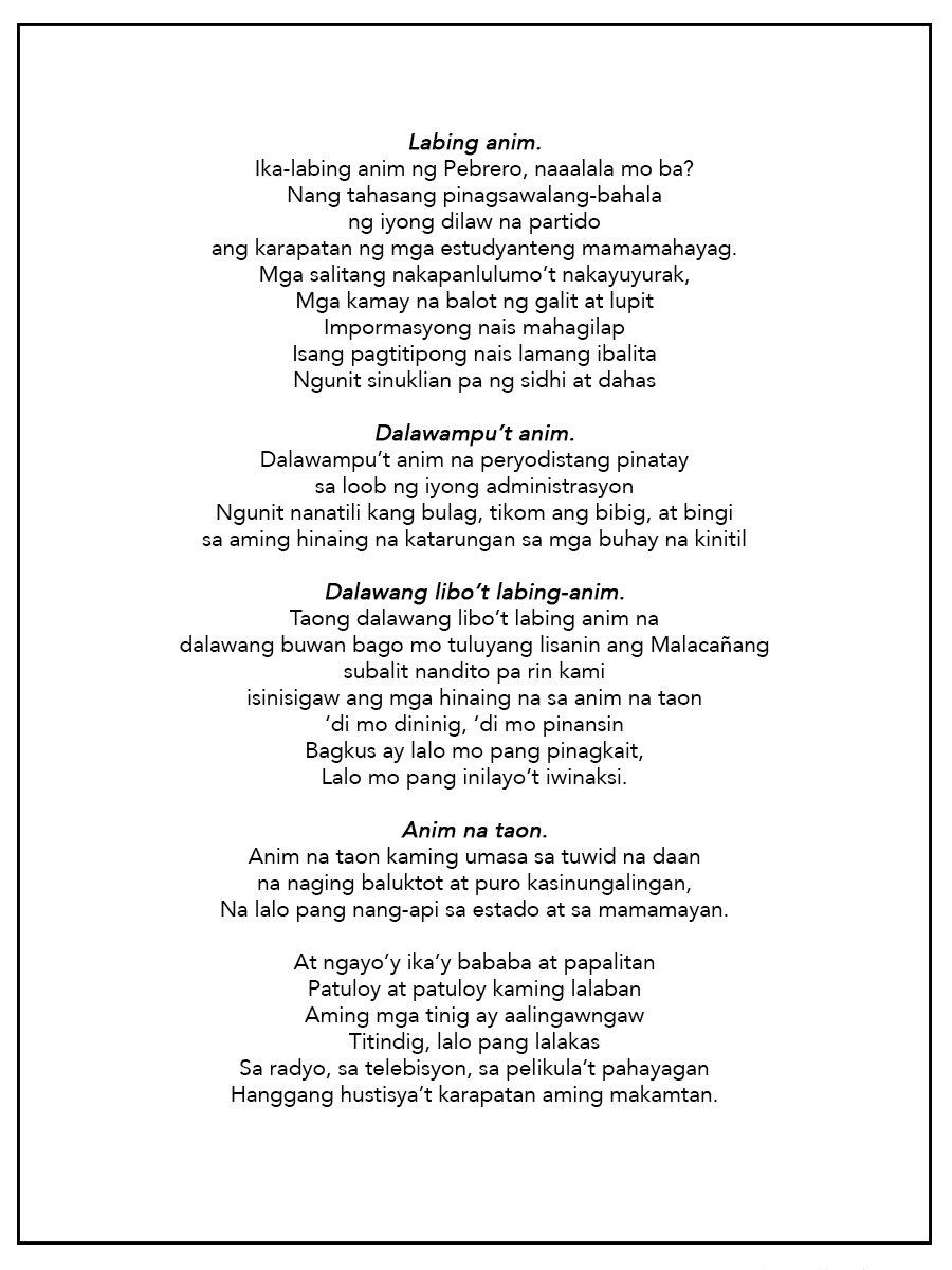 By Photo Congress || Dalawang Libo't Labing Isa