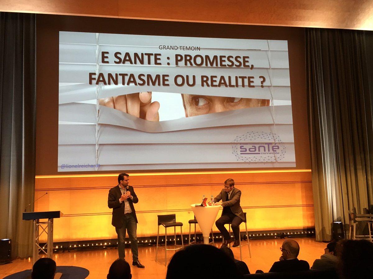 Thumbnail for E SANTE : PROMESSE, FANTASME OU REALITE ? #hcsmeufr