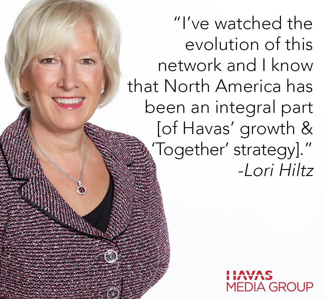 Congrats @LoriHiltz, now CEO of Global Brands for @HavasMedia! More details via @WSJ: https://t.co/v3VsOTwksj https://t.co/EmTKrlkDHo