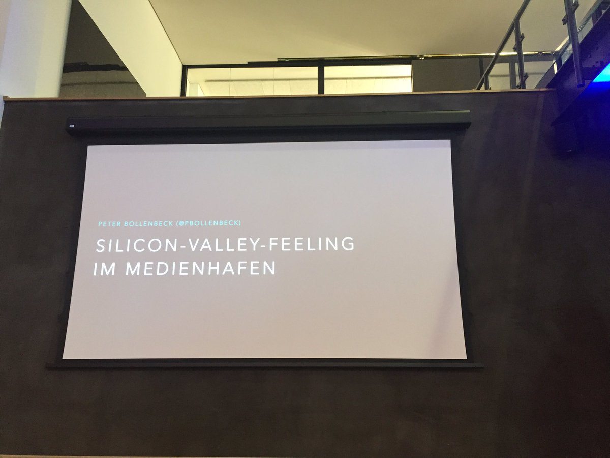 Peter Bollenbeck bringt Silicon Valley feeling nach Düsseldorf  #leanDUS https://t.co/cGglGdH7Bi