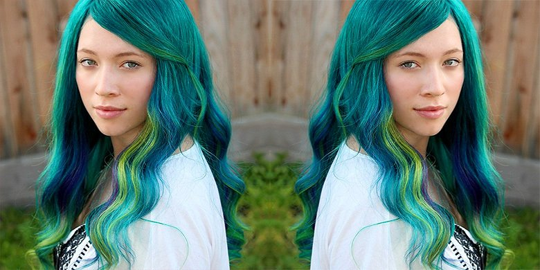 Peacock Hair Is A Thing As Women Flock To Dye Their Hair Shades Of Green, Blue, And Purple https://t.co/lXunLsEQij https://t.co/JQPpshfQvt
