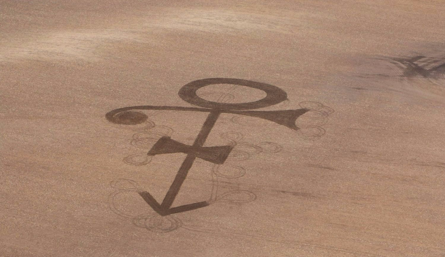 RT @mashable: Farmer's Prince tribute is a massive 'love symbol' crop circle: https://t.co/iQeSi1sMhO https://t.co/dLufJrleGH