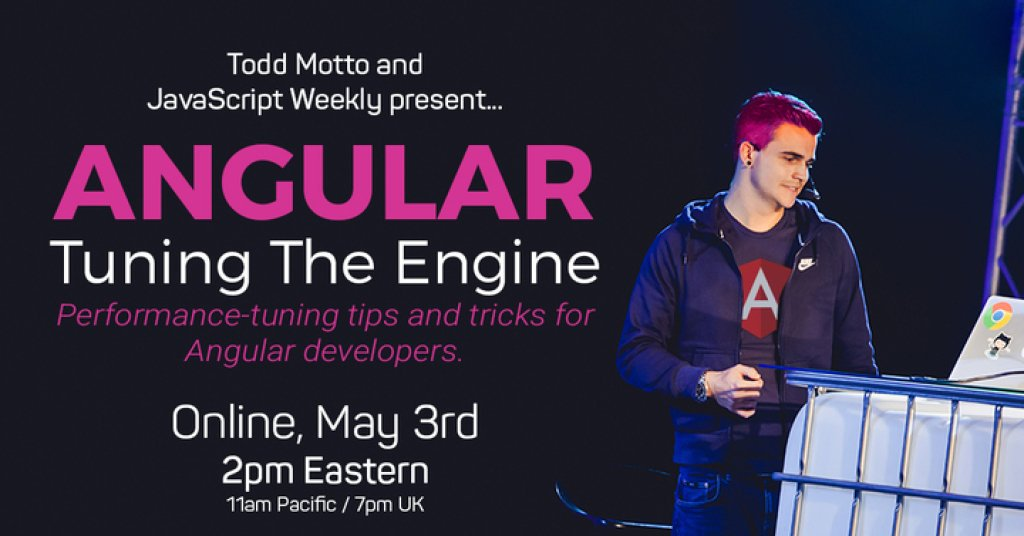 Angular: Tuning The Engine – Crowdcast