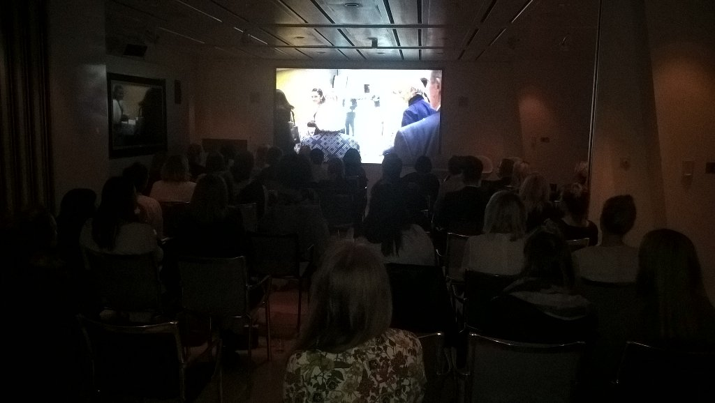 Packed house with @ELLEUK and special guests in the agency watching our doc #herstory. #femaletribes https://t.co/l7Um3msMsj