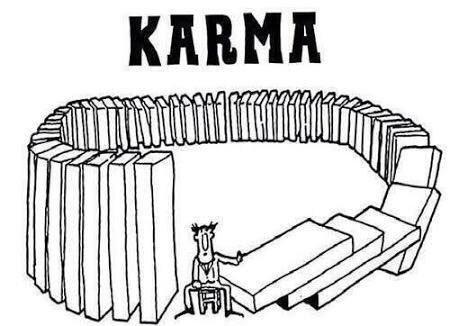 RT @MiguelTorrucoG: El Karma no es la venganza del universo, es el reflejo de tus acciones. https://t.co/lv9o8ScTJB