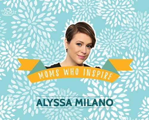 Today in our #MomsWhoInspire series: badass actress & #breastfeeding advocate @Alyssa_Milano https://t.co/dUaTp8LeDS https://t.co/9Rz0FrmwDn