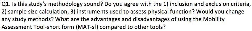 Q1: Methodology #AnesJC https://t.co/v79gvY49fU