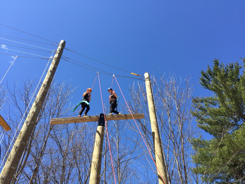 Image result for high ropes muskoka woods