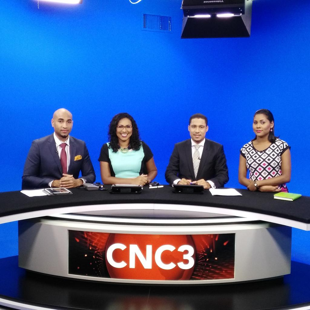 Trinidad And Tobago: CNC3 News Blooper - YouTube